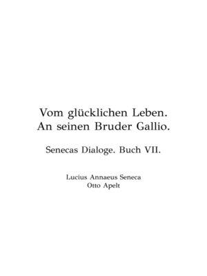 cover image of Vom Glücklichen Leben