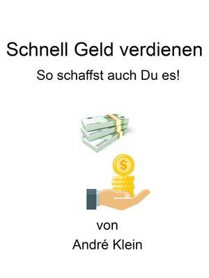 cover image of Schnell Geld verdienen
