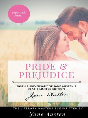 cover image of Pride and Prejudice --The Jane Austen's Literary Masterpiece