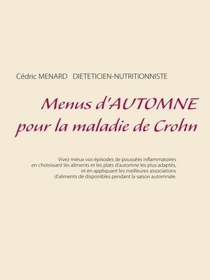 cover image of Menus d'automne pour la maladie de Crohn
