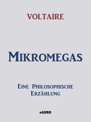cover image of Mikromegas