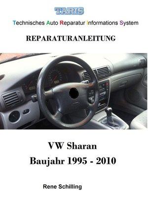 cover image of Taris Reparaturanleitung Sharan