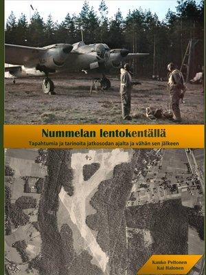 cover image of Nummelan lentokentällä