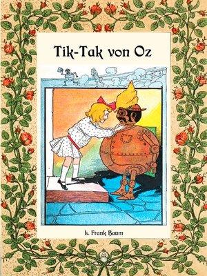 cover image of Tik-Tak von Oz--Die Oz-Bücher Band 8