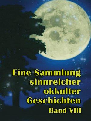 cover image of Eine Sammlung sinnreicher okkulter Geschichten