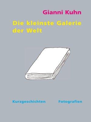 cover image of Die kleinste Galerie der Welt