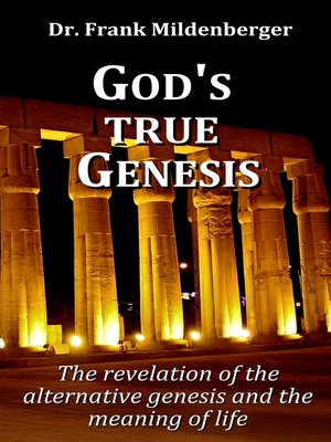 cover image of God's true Genesis