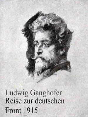 cover image of Reise zur deutschen Front