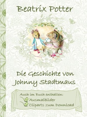 cover image of Die Geschichte von Johnny Stadtmaus (inklusive Ausmalbilder und Cliparts zum Download)