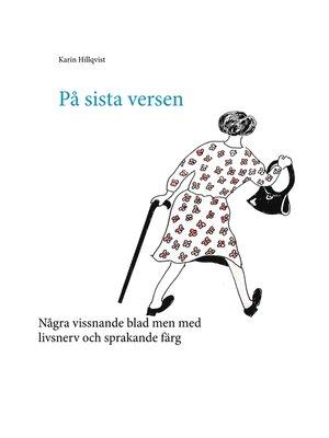 cover image of På sista versen