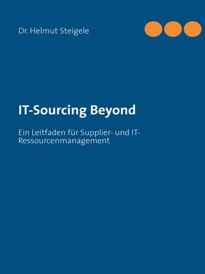 cover image of IT-Sourcing Beyond