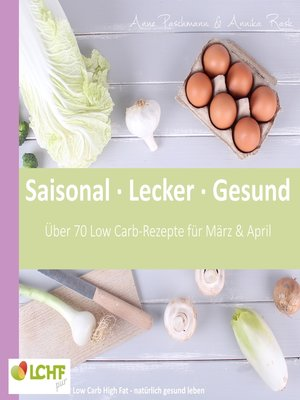 cover image of LCHF pur--Saisonal. Lecker. Gesund --März & April