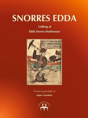 cover image of Snorres Edda