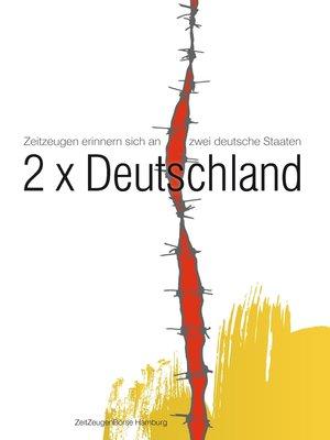 cover image of 2x Deutschland