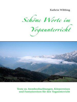 cover image of Schöne Worte im Yogaunterricht