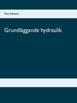 cover image of Grundläggande hydraulik