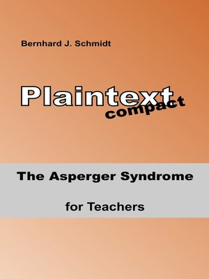 cover image of The Asperger Syndrome for Teachers