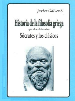 cover image of HISTORIA DE LA FILOSOFIA GRIEGA  II