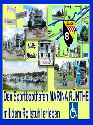 cover image of Den Sportboothafen Marina Rünthe mit dem Rollstuhl erleben
