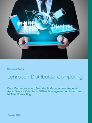 cover image of Lehrbuch Distributed Computing