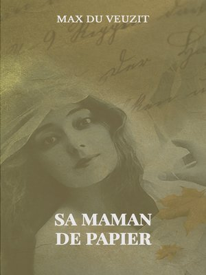 cover image of Sa maman de papier