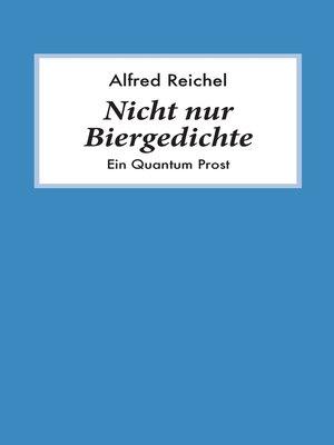 cover image of Nicht nur Biergedichte