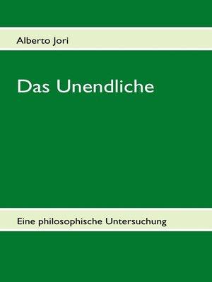 cover image of Das Unendliche