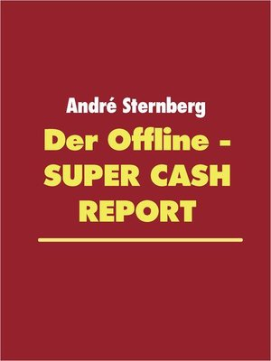 cover image of Der Offline--Super Cash Report