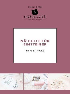 cover image of Nähhilfe für Einsteiger
