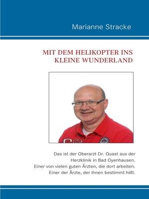 cover image of Mit dem Helikopter ins kleine Wunderland