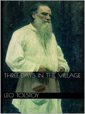 cover image of Three Days in the Village