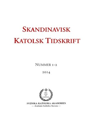 cover image of Skandinavisk Katolsk Tidskrift