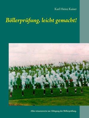 cover image of Böllerprüfung, leicht gemacht!