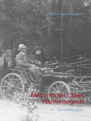 cover image of Min morfar Claés Hammargren