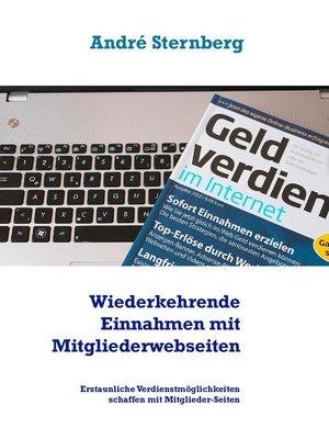 cover image of Wiederkehrende Einnahmen mit Mitgliederwebseiten
