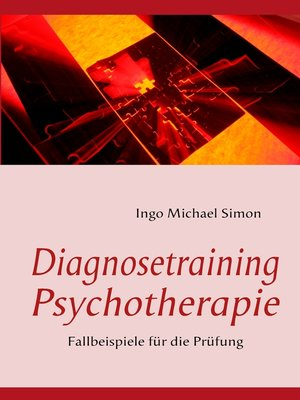 cover image of Diagnosetraining Psychotherapie