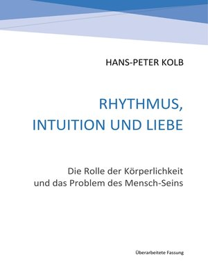cover image of Rhythmus, Intuition und Liebe