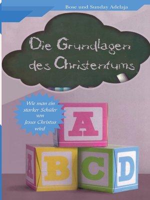 cover image of ABC--Die Grundlagen des Christentums