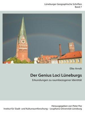 cover image of Der Genius Loci Lüneburgs