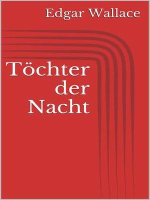 cover image of Töchter der Nacht