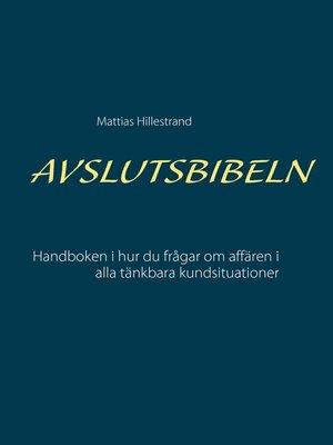 cover image of Avslutsbibeln