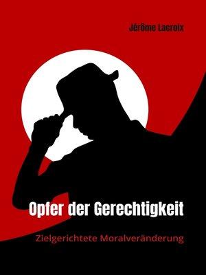 cover image of Opfer der Gerechtigkeit
