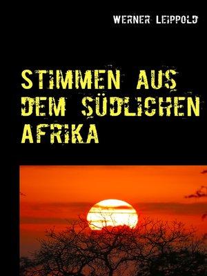 cover image of Stimmen aus dem südlichen Afrika
