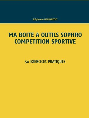 cover image of Ma boîte à outils Sophro compétition sportive