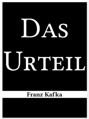 cover image of Das Urteil