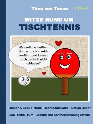 cover image of Witze rund um Tischtennis