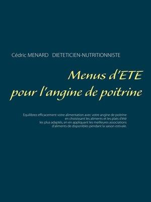 cover image of Menus d'été pour l'angine de poitrine