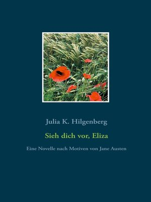 cover image of Sieh dich vor, Eliza