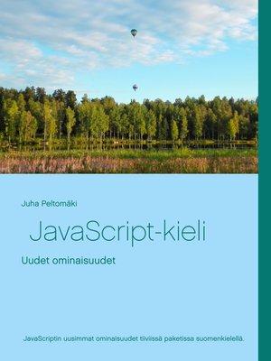 cover image of JavaScript-kieli