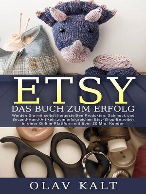 cover image of Etsy--Das Buch zum Erfolg